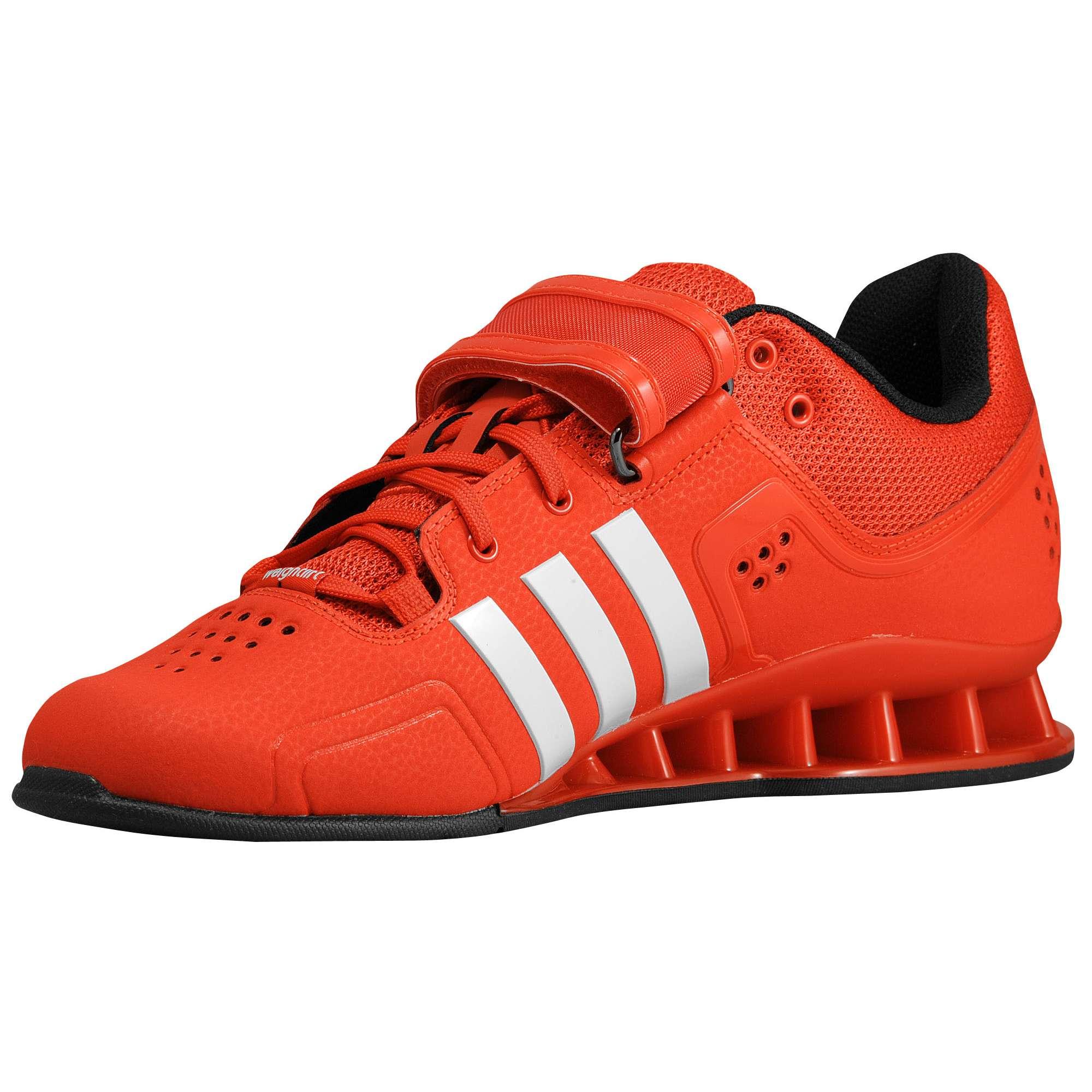 new style dd14e 443c3 ... Adidas Adipower (Rood) - Zijaanzicht binnenkant ...