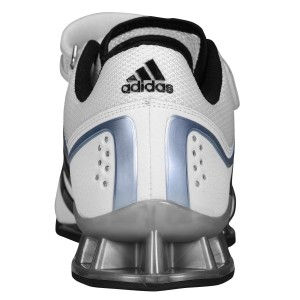 Adidas Adipower (Wit) - Achteraanzicht
