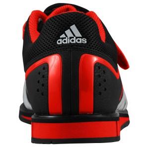 Adidas Powerlift 2 (Zwart/Rood) - Achteraanzicht