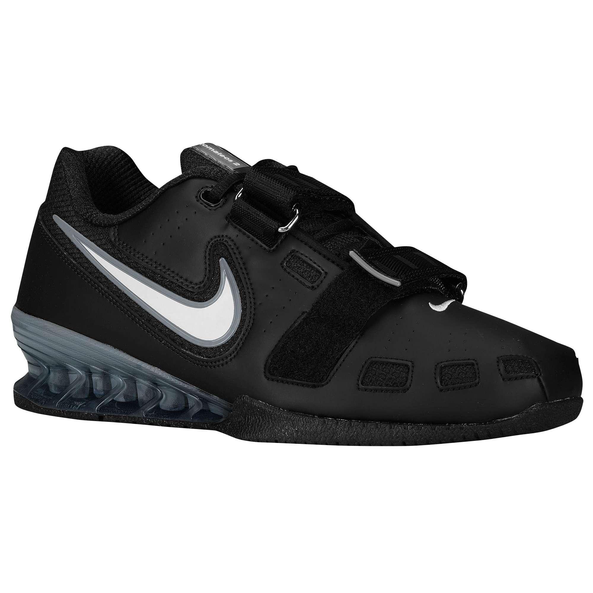 Nike Romaleos 2 (Zwart) - Zijaanzicht ...