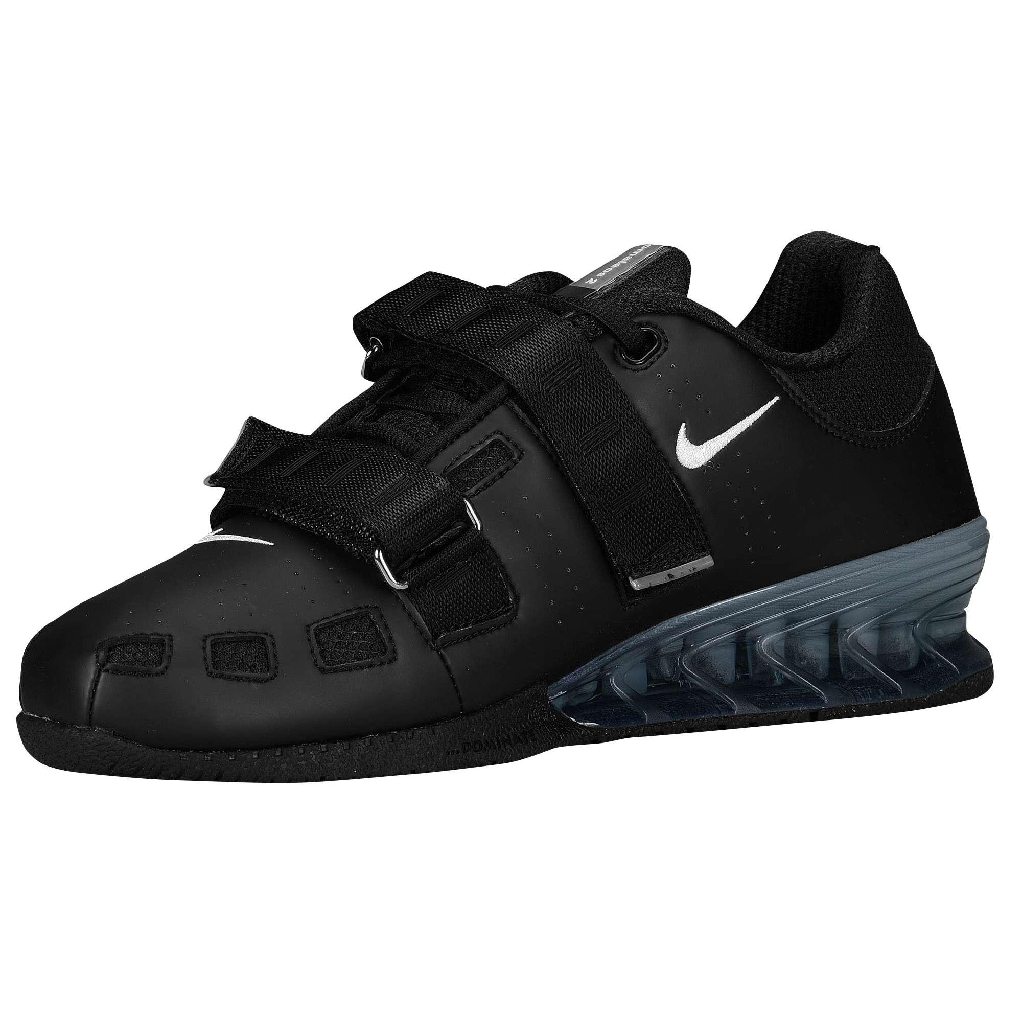 ... Nike Romaleos 2 (Zwart) - Zijaanzicht (Binnenkant) ...