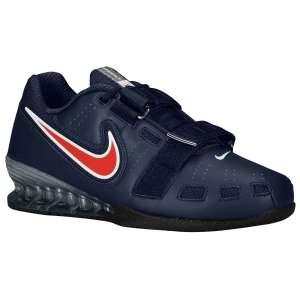Nike Romaleos 2 (Obsidian; Blauw) - Zijaanzicht
