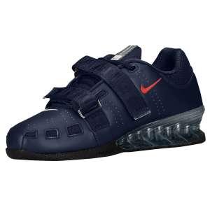 Nike Romaleos 2 (Obsidian; Blauw) - Zijaanzicht (Binnenkant)
