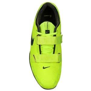 Nike Romaleos 2 (Volt; Geel) - Bovenaanzicht