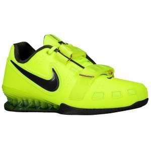 Nike Romaleos 2 (Volt; Geel) - Zijaanzicht