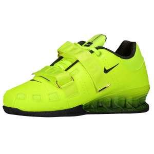 Nike Romaleos 2 (Volt; Geel) - Zijaanzicht (Binnenkant)