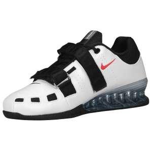 Nike Romaleos 2 (Wit) - Zijaanzicht (Binnenkant)