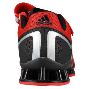 Adidas Adipower (Zwart/Rood) - Achterraanzicht