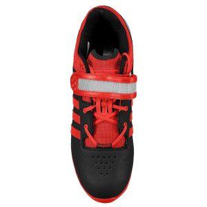 Adidas Adipower (Zwart/Rood) - Bovenaanzicht