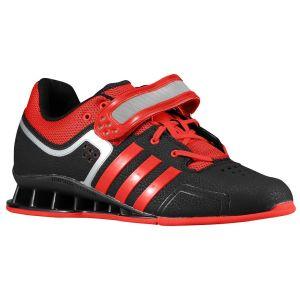 Adidas Adipower (Zwart/Rood) - Zijaanzicht