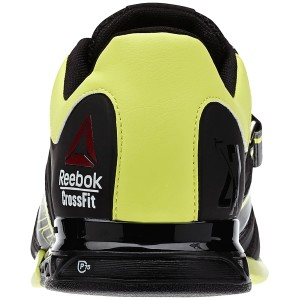 Reebok CrossFit Lifter 2.0 (Zwart-geel) - Achteraanzicht