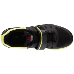 Reebok CrossFit Lifter 2.0 (Zwart-geel) - Bovenaanzicht