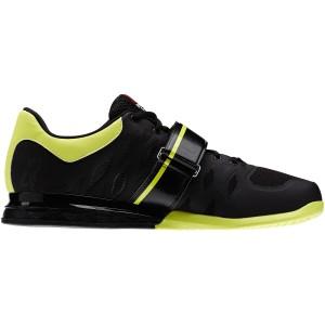 Reebok CrossFit Lifter 2.0 (Zwart-geel)  - Zijaanzicht binnenkant