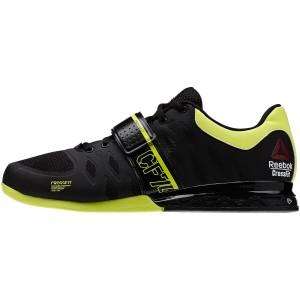 Reebok CrossFit Lifter 2.0 (Zwart-geel)  - Zijaanzicht buitenkant