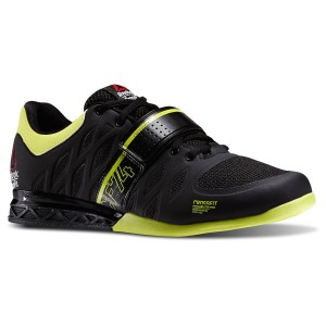 Reebok CrossFit Lifter 2.0 (Zwart-geel) - Zijaanzicht