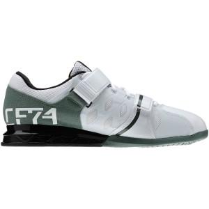 Reebok CrossFit Lifter Plus 2.0 (Wit-Groen)  - Zijaanzicht binnenkant