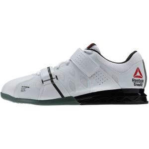Reebok CrossFit Lifter Plus 2.0 (Wit-Groen)  - Zijaanzicht buitenkant