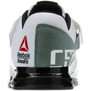 Reebok CrossFit Lifter Plus 2.0 (Wit-Groen) - Achteraanzicht