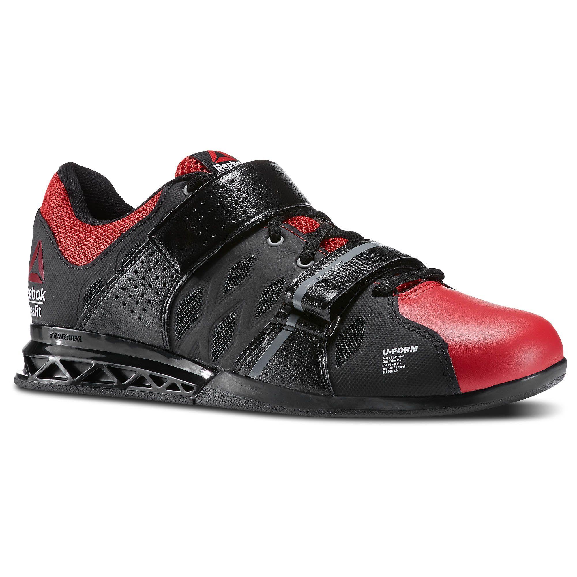 Reebok CrossFit Lifter Plus 2.0 (Zwart-rood) - Zijaanzicht ...