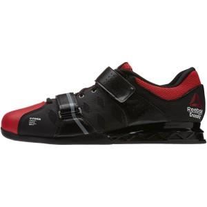 Reebok CrossFit Lifter Plus 2.0 (Zwart-rood) - Zijaanzicht buitenkant