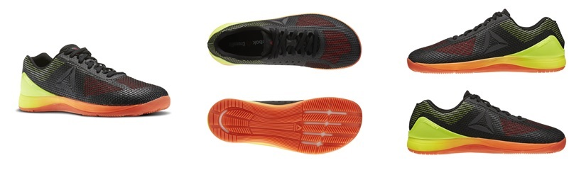 Reebok CrossFit Nano 7.0 - Zwart/Oranje/Geel